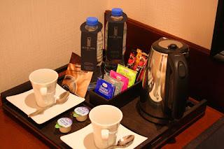 In-room coffee service, Nassima Royal Hotel, Dubai