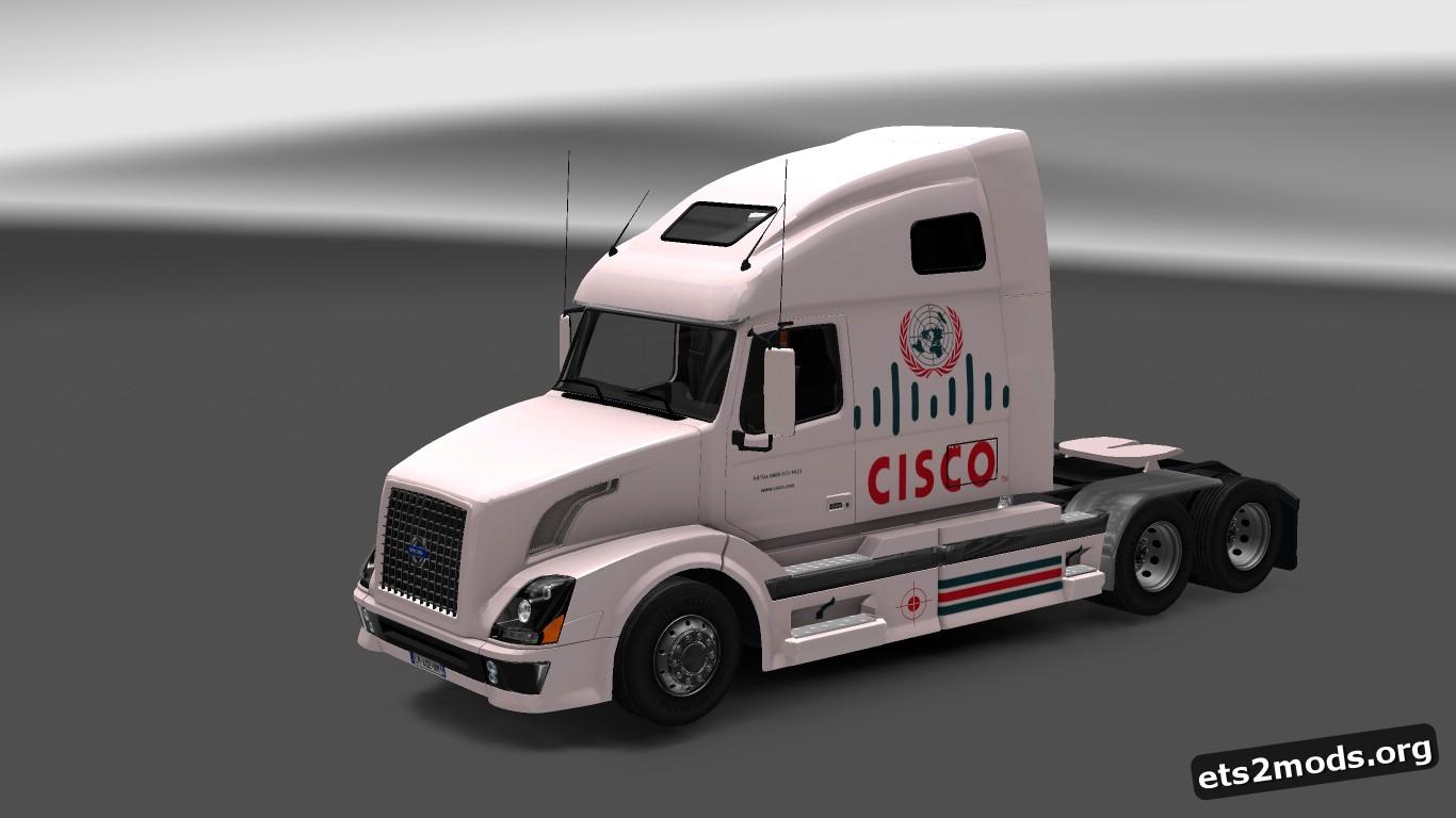 Cisco Skin for Volvo VNL 670