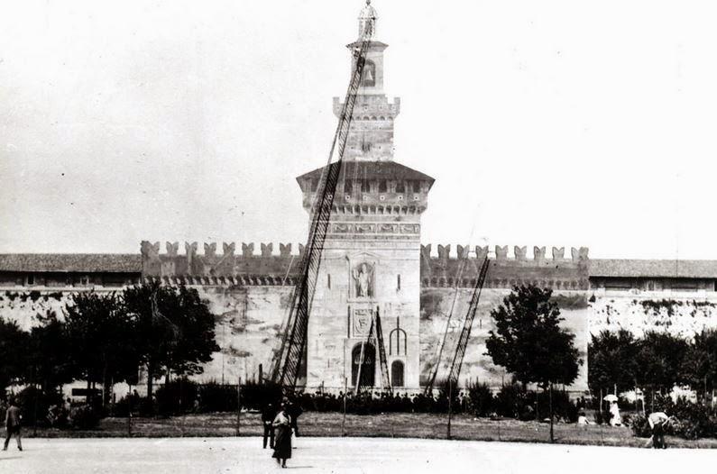 castello sforzesco beltrami cairoli