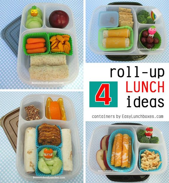 4 Roll-Ups Lunch Ideas In Easylunchboxes