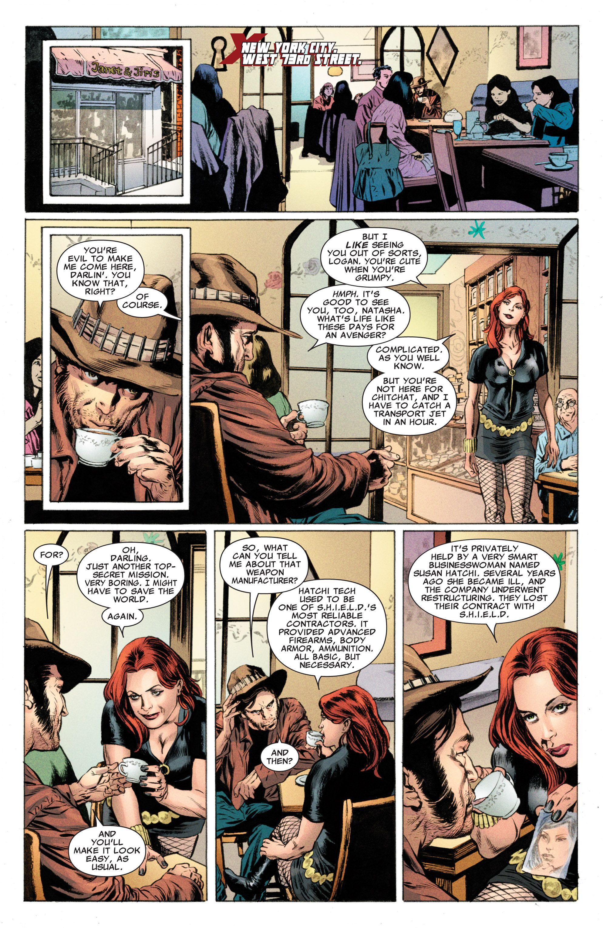 Read online Astonishing X-Men (2004) comic -  Issue #50 - 5