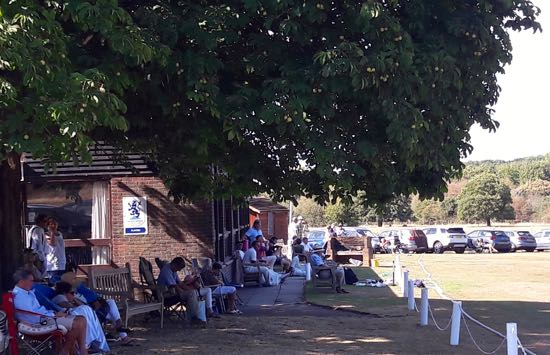 North Mymms Cricket Club Pavillion - August 5, 2018 Image courtesy of North Mymms Cricket Club