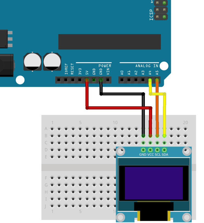 Arduino and I2C OLED | Full Tutorial - clgproject