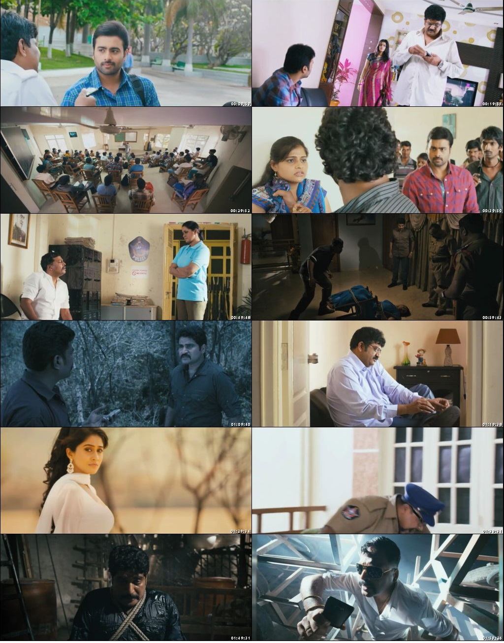 Screen Shot Of Shootout 2018 300MB Full Movie Hindi Dubbed Free Download 480P HDRip Small Size PC Movie