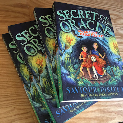Saviour Pirotta - ANCIENT GREEK MYSTERIES (Q&A) Interview With Mr Ripley's Enchanted Books