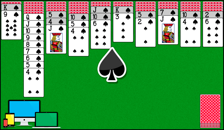 Play Free Spider Solitaire Online