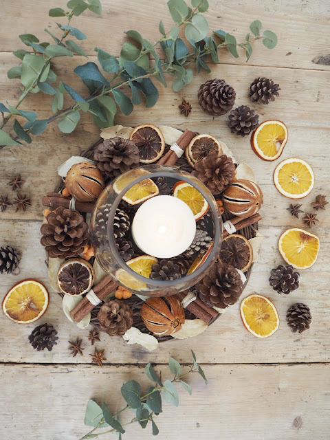 How to embrace autumn in your home including baking a new recipe, getting your home winter ready and decluttering ahead of Christmas