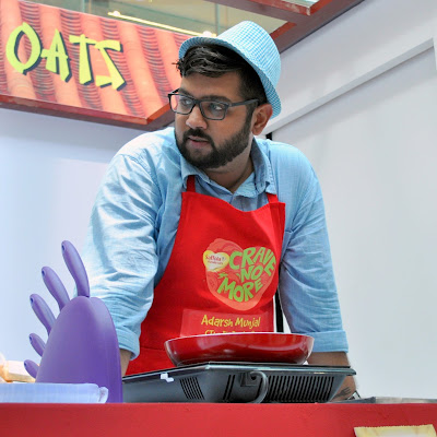 Adarsh Munjal AKA The Big Bhookad at the Food Truck Challenge