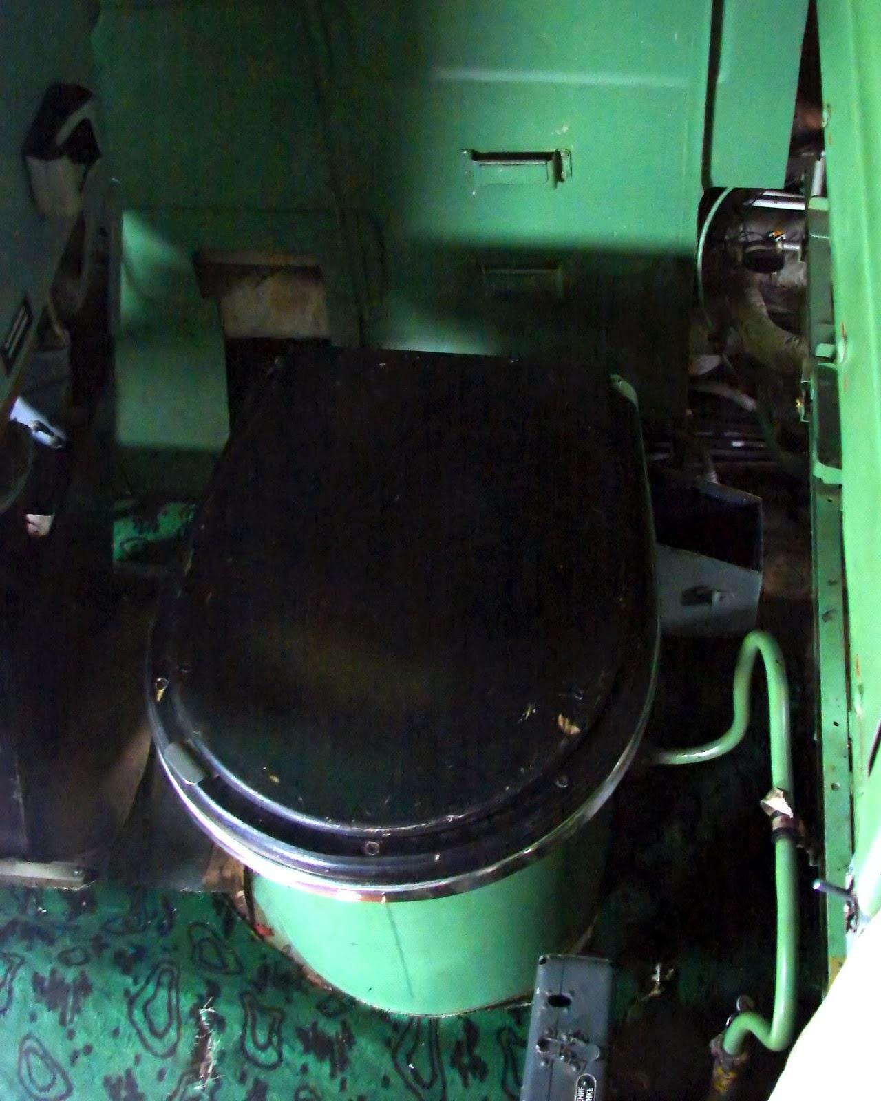 Кабина Ту-95: унитаз
