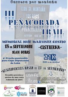 clasificaciones Peñacorada Trail 2016