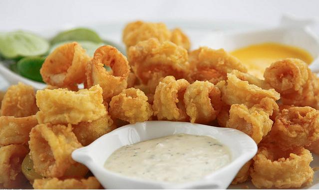 Chicharron de calamar receta