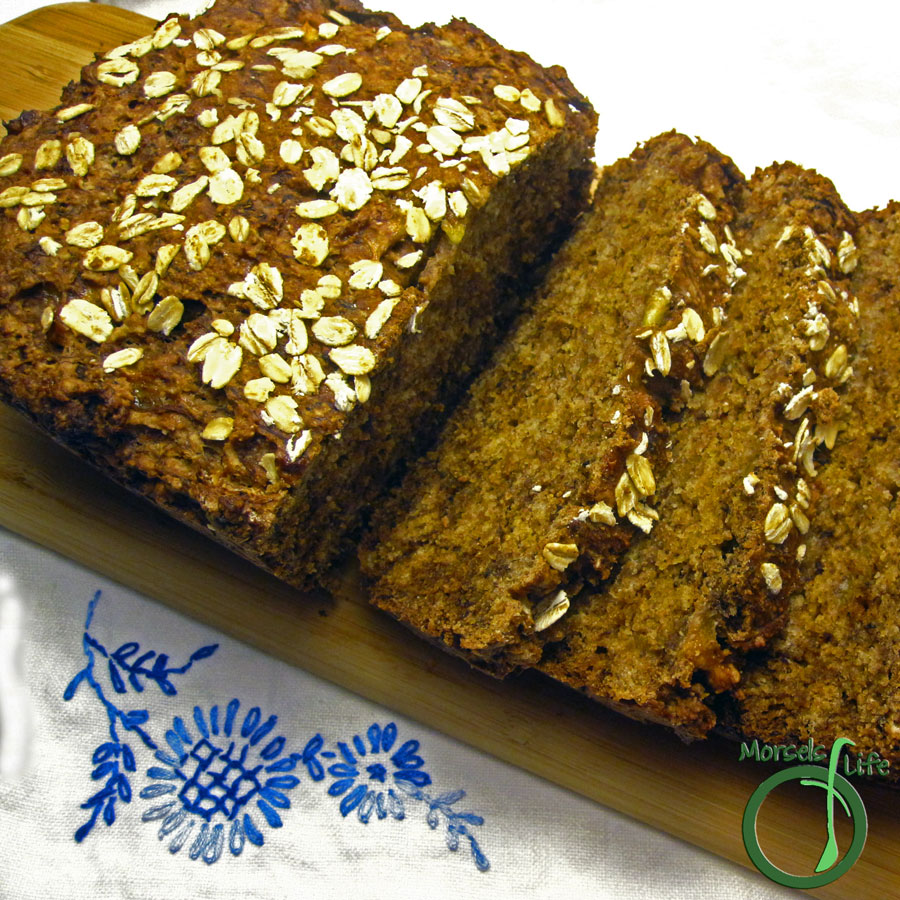 Morsels of Life - Roasted Banana Bread - Flavorful banana bread made from roasted bananas.
