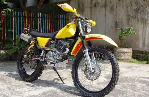 Modifikasi Honda Mega Pro : Trail Jadul - Indonesia Motorcycle