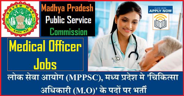 MPPSC 1065 Medical Officer Recruitment 2019