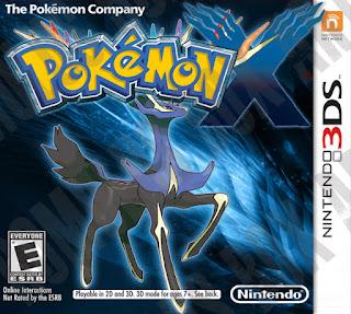 Pokemon X 3DS Cover
