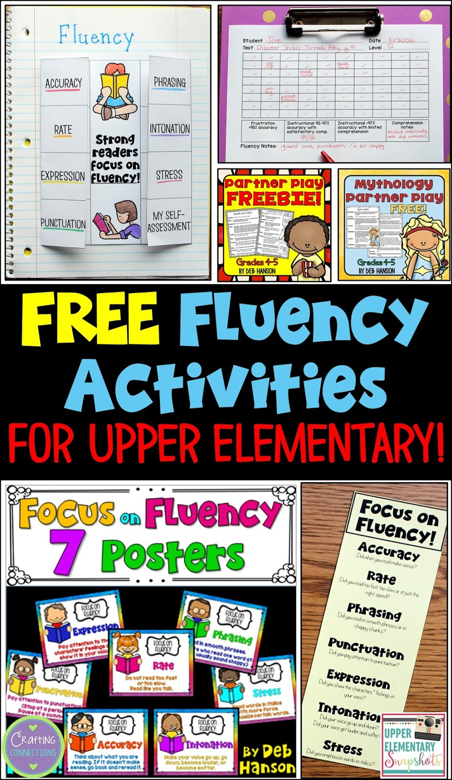 photograph about Printable Reading Fluency Games called Concentrating upon Fluency within the Higher Essential Clroom