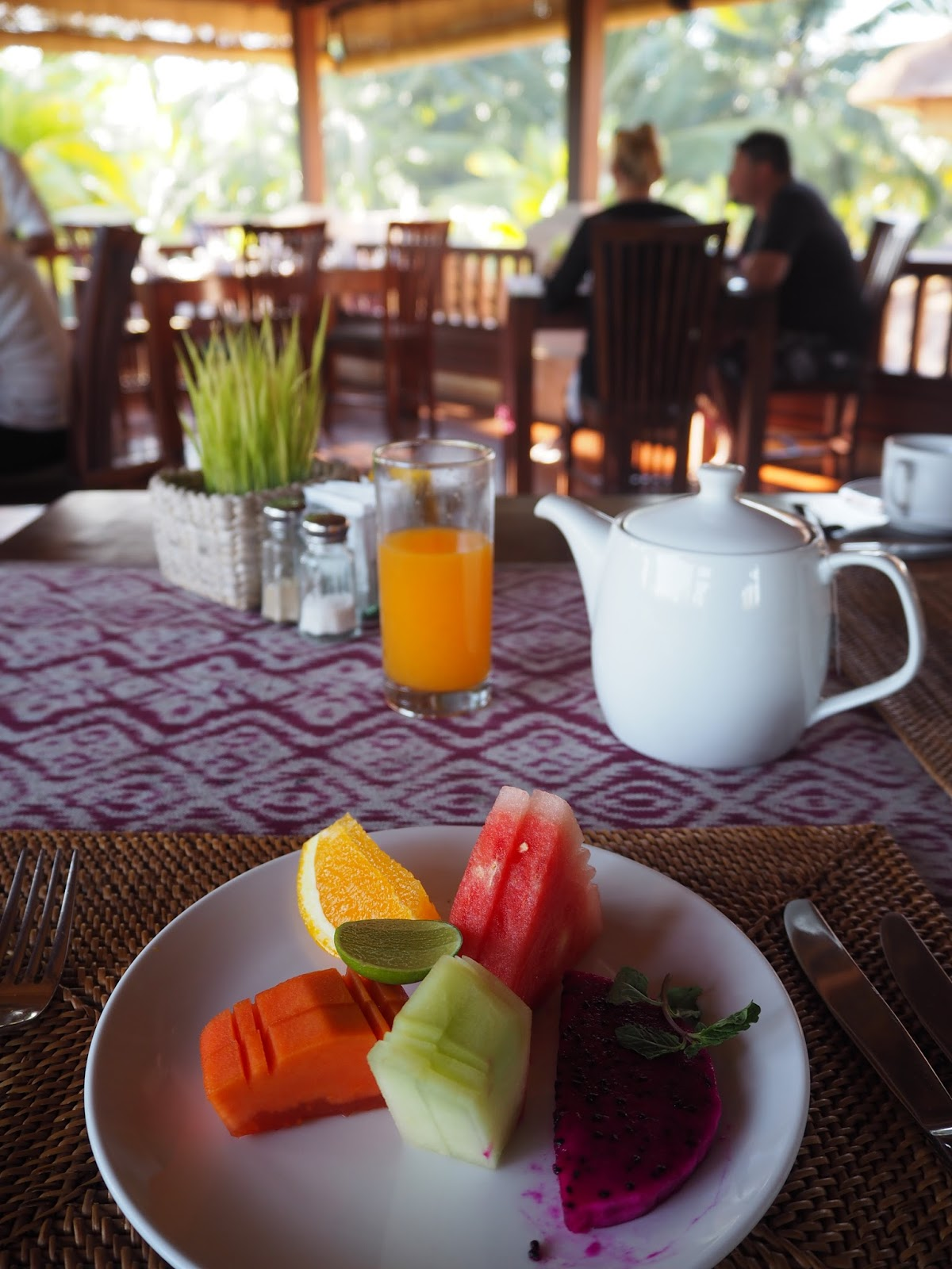 ubud village resort bali breakfast