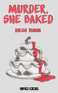 la copertina di Murder, She Baked, il primo racconto Sad Dog