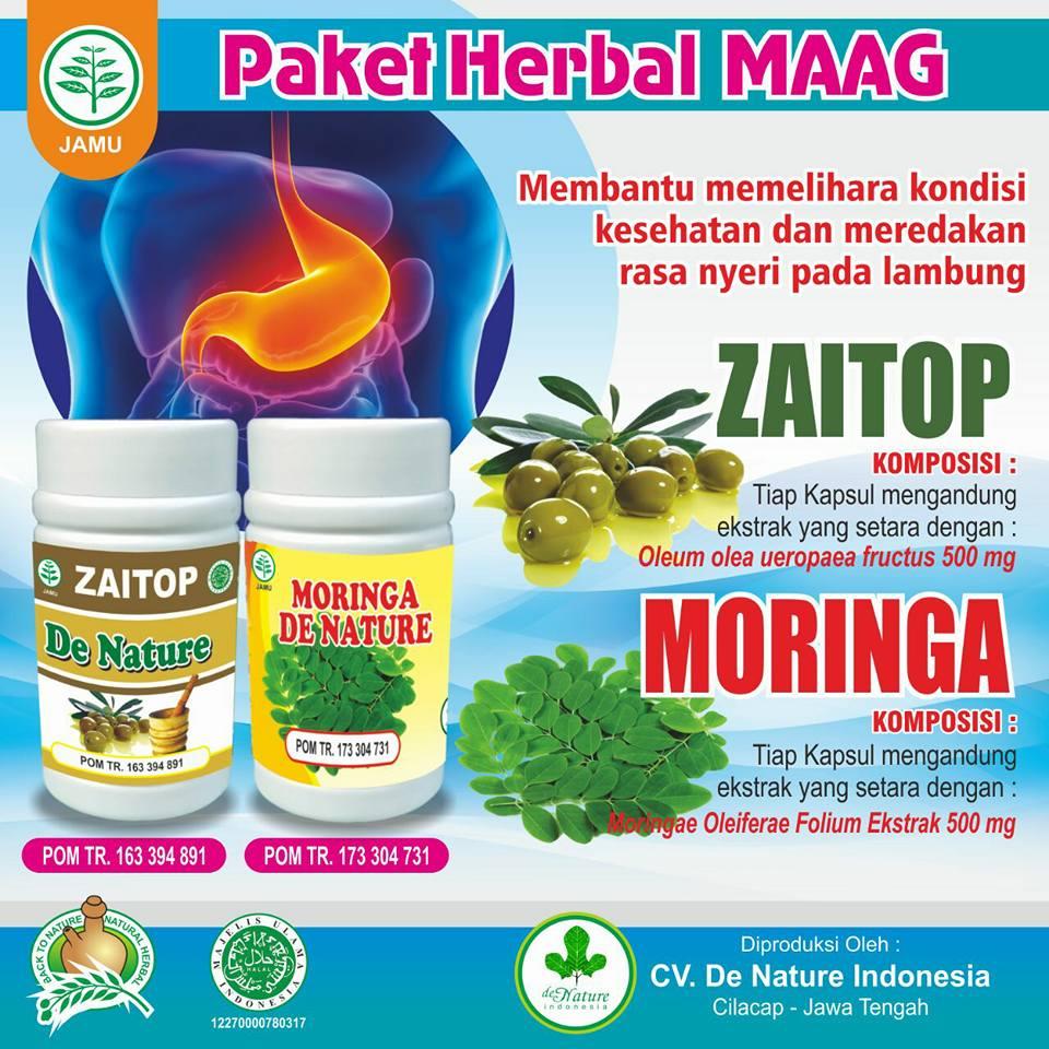 Obat Maag Ringan - Akut de Nature Tradisional Bagus Ampuh