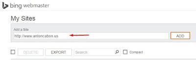 Cara Verifikasi Domain di Bing Webmaster