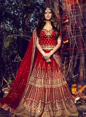 Traditional-indian-bridal-wear-lehenga-designer-collection-2017-2