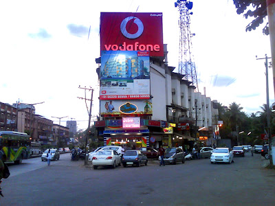 magnificient image of junction at Balmatta circle near Jyoti theatre