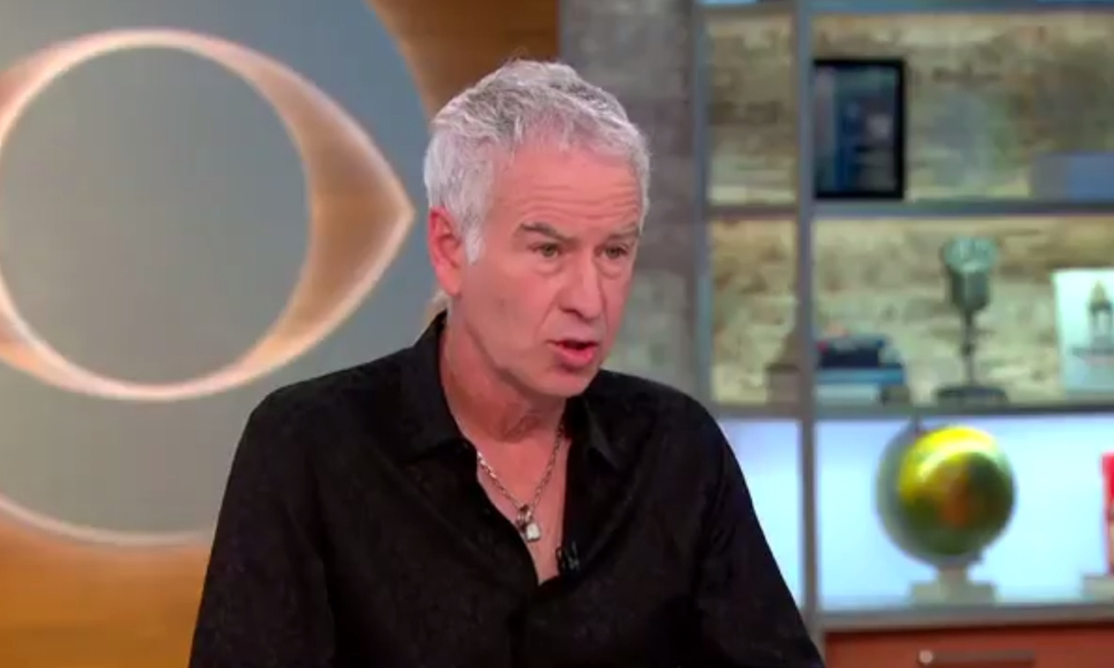 Tennis legend John McEnroe Unapologetic For his controversial comments about Serena Williams