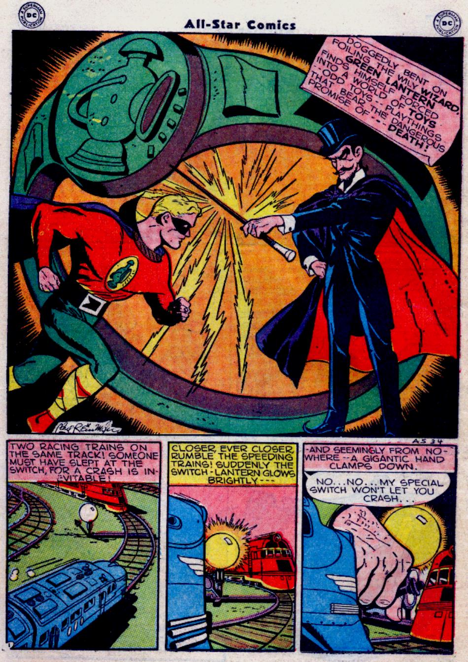 Read online All-Star Comics comic -  Issue #34 - 38