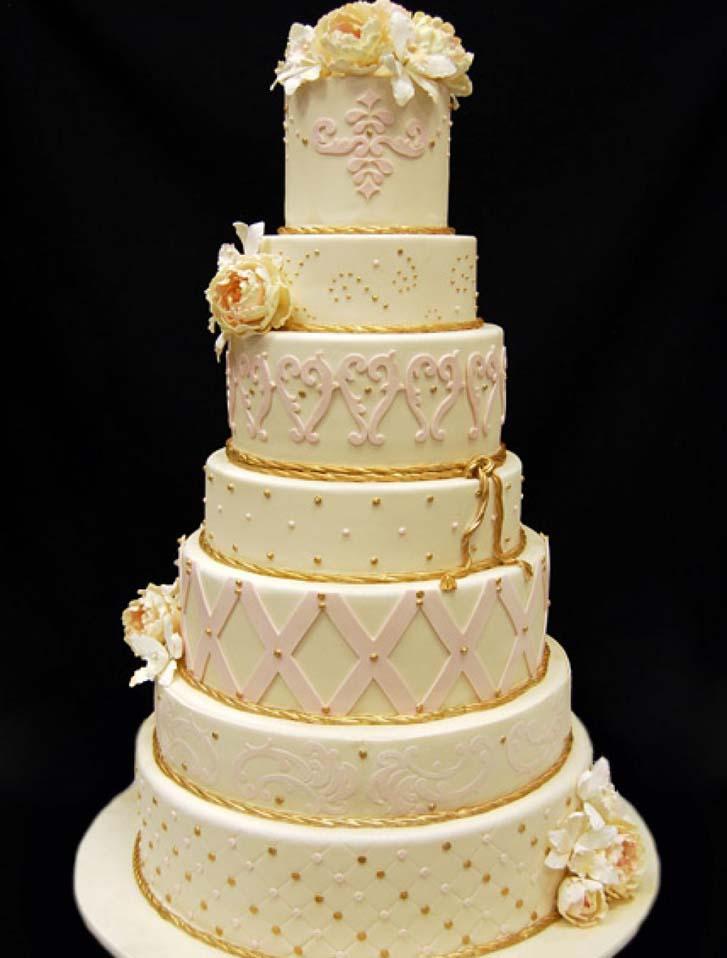 Purple and Black Wedding Cakes   Cake Magazine