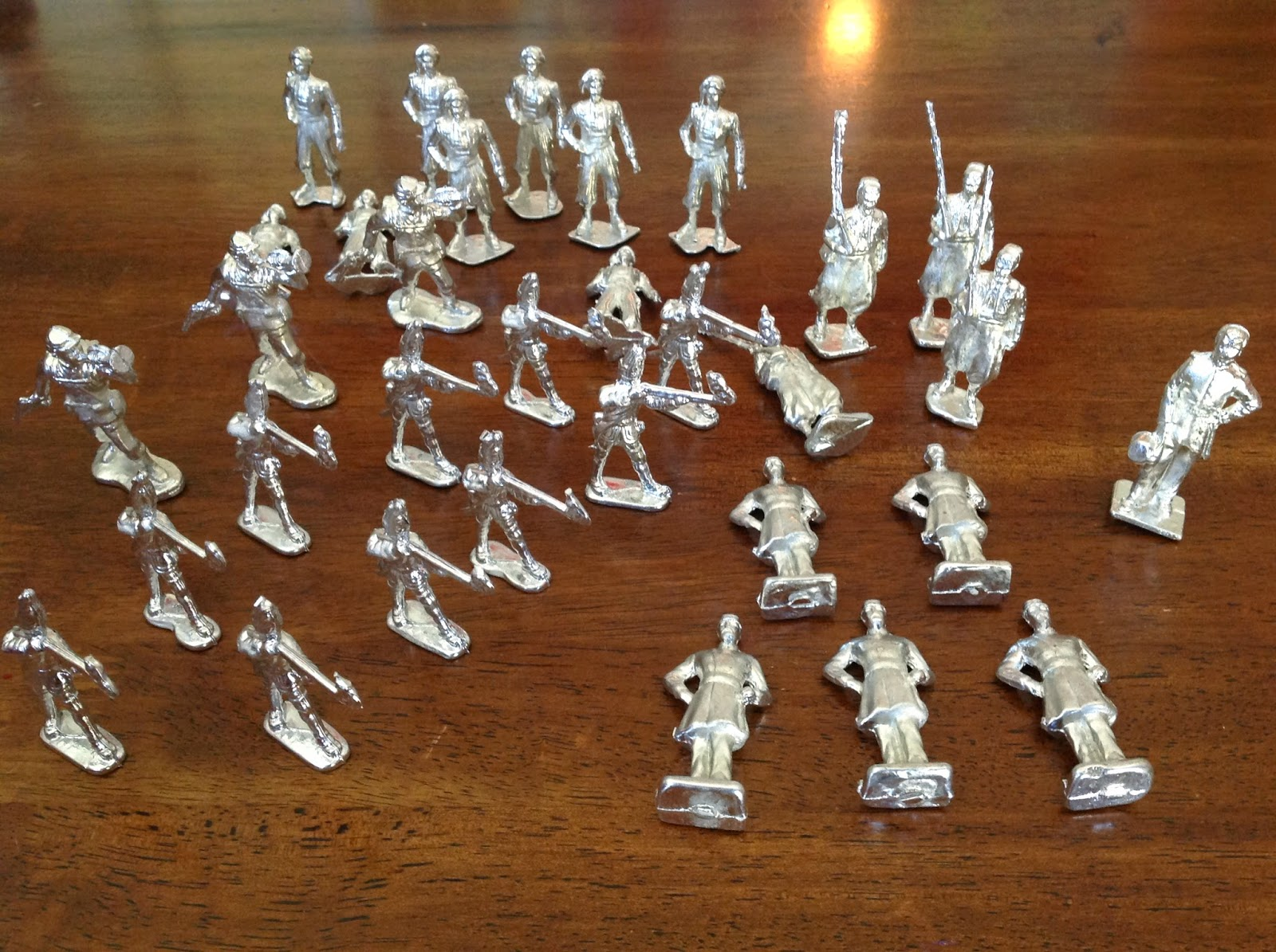 The Schnittker Six: Tin Soldiers and other 18th Century Past Times