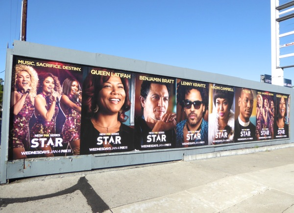Star TV series street posters