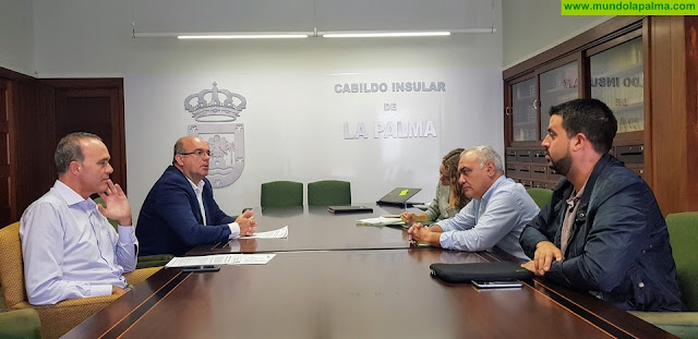 El Cabildo trabaja para reabrir cuanto antes y con la máxima seguridad el sendero de Marcos y Cordero