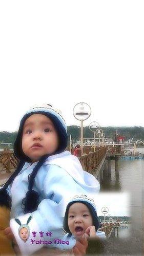 關渡水岸公園|關渡碼頭藍色公路乘船處之一