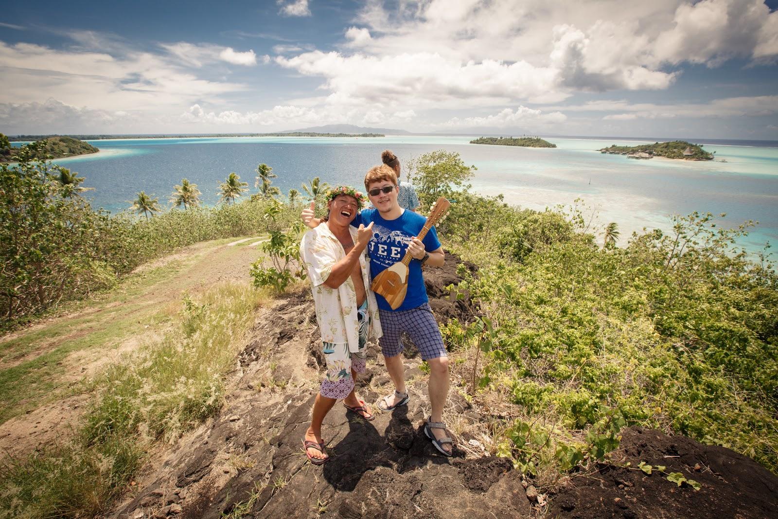 Bora Bora 本島觀景台之二