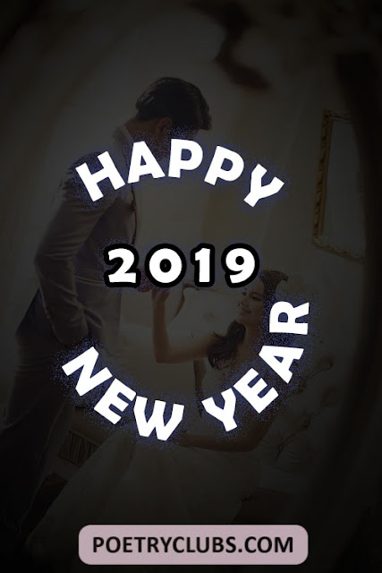 Happy New Year 2019 Greeting Card for Lovers