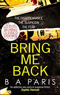 Bring Me Back by B A Paris - Reading, Writing, Booking