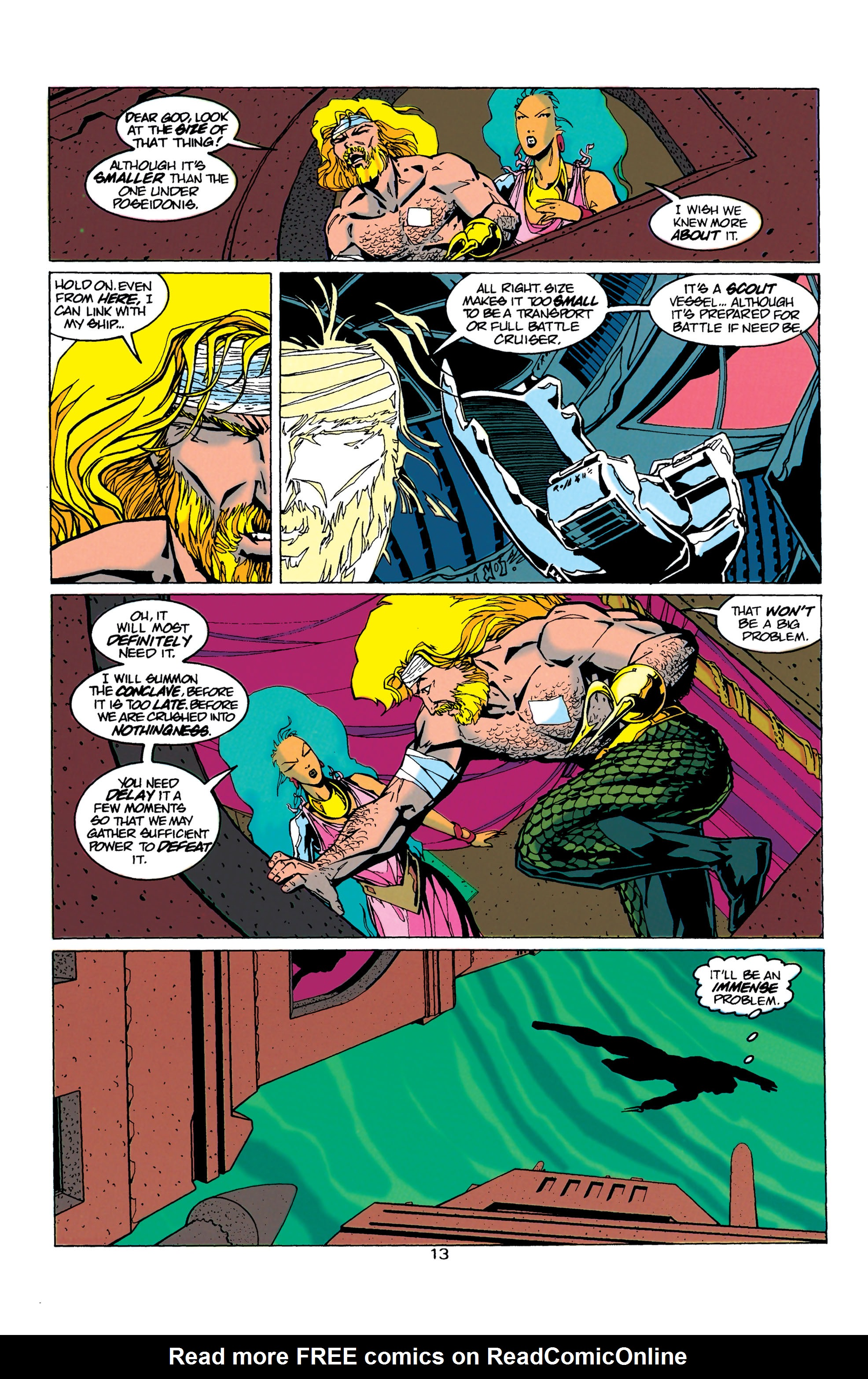 Read online Aquaman (1994) comic -  Issue #21 - 14
