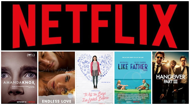 Amanda Knox, Endless Love, To All The Boys I've Loved Before, Like Father and The Hangover
