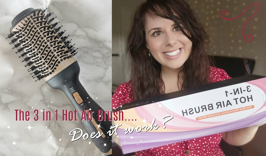 GIFTED: The 3 in 1 Hairbrush.... Does it work?