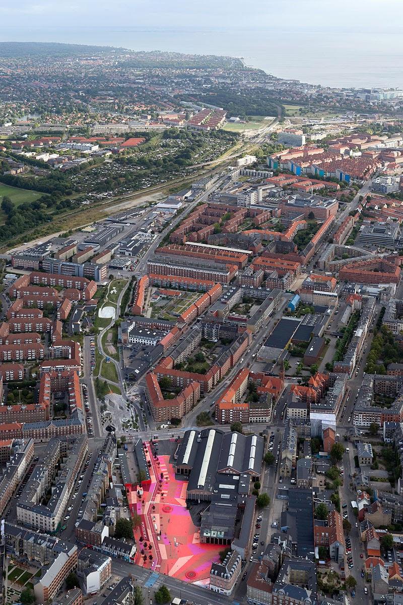 By zonarquitec parque urbano superkilen copenhagen for Big copenhagen