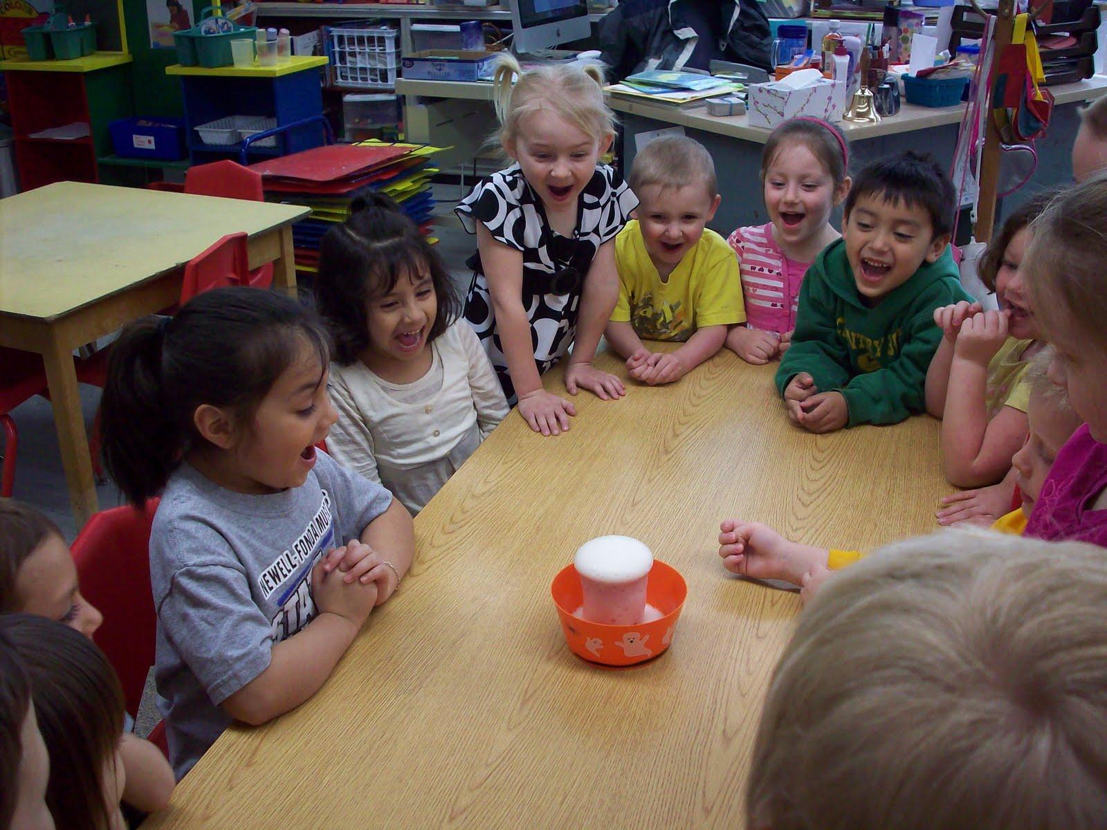 Newell Fonda Preschool V Is For Volcano