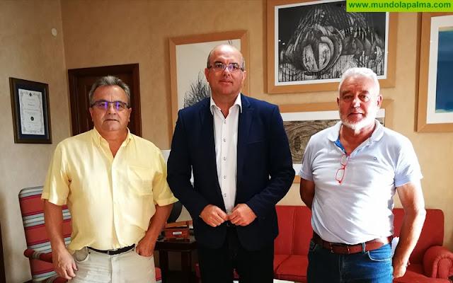 NC se reune con el presidente del Cabildo para hablar de los recursos para la isla en los PGE 2018