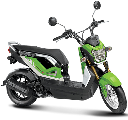honda zoomer x review and specs motorider 88. Black Bedroom Furniture Sets. Home Design Ideas