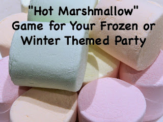 Winter Party Game-Hot Marshmallow
