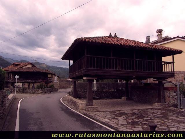 Ruta Bueño Peña Avis: Hórreo y panera en Bueño