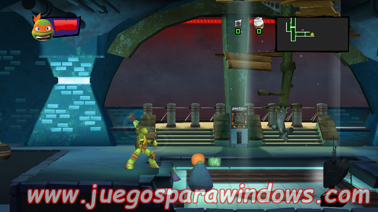 Teenage Mutant Ninja Turtles Danger Of The Ooze Multilenguaje ESPAÑOL XBOX 360 (Region FREE) (iMARS) 7