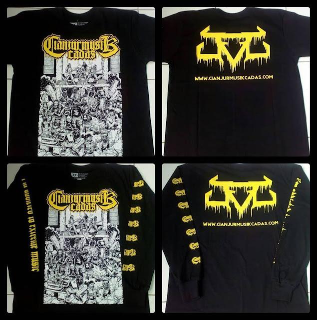 "Sudah Tersedia : Tshirt Cianjur Musik Cadas ""Independent Movement"""