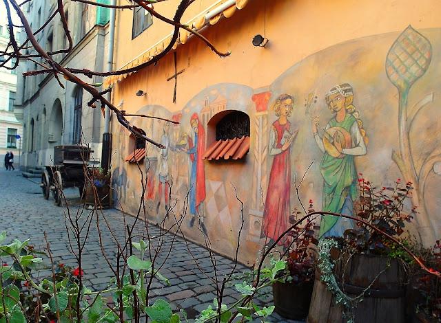 Riga medeltida restaurang