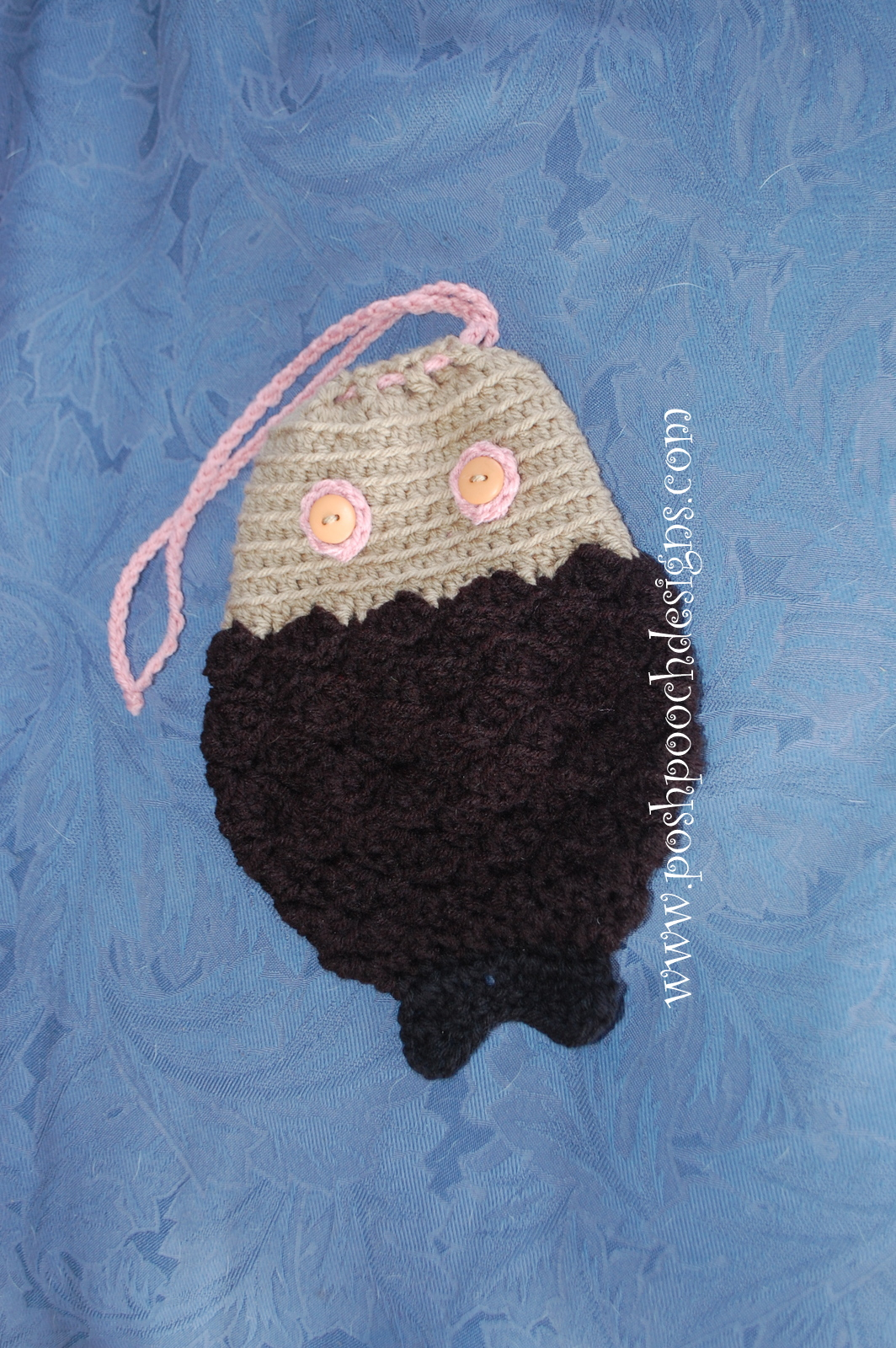 Posh Pooch Designs Dog Clothes: Fish Pouch Crochet Pattern By Moogly