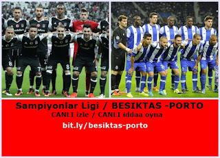Beşiktaş Porto maçını şifresiz